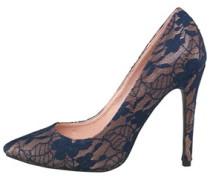 AX Paris Womens Leah Court Shoe Navy