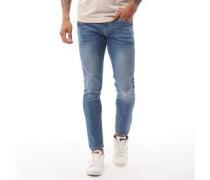 Tranfold Jeans in Slim Passform Steinwasch