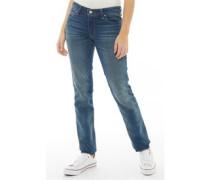 712 Jeans in Slim Passform Dunkelblau