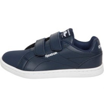 Boys Royal Complete Clean 2V Trainers Collegiate Navy/White