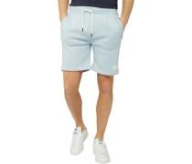 Yeaton Jersey Shorts Hellblau