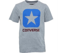 Converse Junior Boxstar T-Shirt Grey Heather