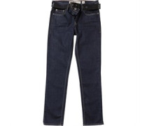 Herren Bancroft Stretch ed Wash Jeans in regulär Passform Blau
