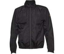 Duck and Cover Herren Scope Funnel Neck Jacke Black