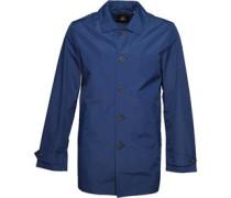 Lyle And Scott Vintage Mens Lightweight Raincoat Present Blue