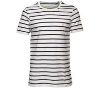 Herren Pickering Herringbone T-Shirt Ecru