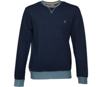 Original Penguin Mens Root Crew Sweater Rinse Wash