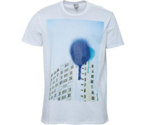 Bench Mens Composition T-Shirt White