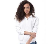 adidas Neo Womens Basic Full Zip Hoody White