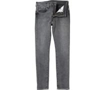 Herren 519 Extreme Skinny Jeans Verblasstes Grau
