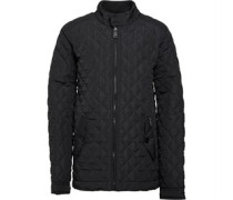 Ben Sherman Junior Quilted Jacket Washed Black