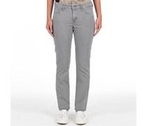 Levi's Damen Classic Rise Demi Curve Slim 5 Pocket Glacier Jeans in Slim Passform Greys