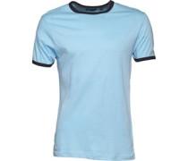 Mens Tallon T-Shirt Sky Blue/Navy