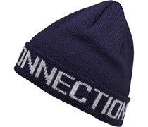French Connection Herren FC Jacquard Beanie Mütze Navy