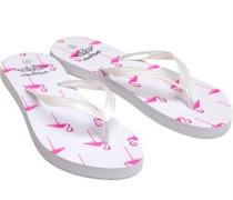 Flamingo Druck Zehentrenner