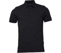 Peter Werth Mens Vista Polo Black/Ecru