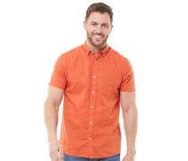 Baumwolle Leinen Hemd mit kurzem Arm