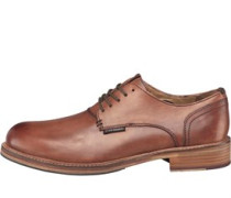 Ben Sherman Mens Pat Lace Shoes Tan