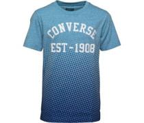 Jungen Vintage Fade T-Shirt Blaumeliert