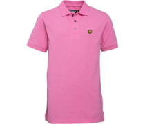 Lyle And Scott Boys Classic Polo Summer Pink