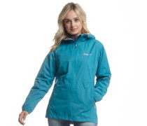 Damen Deluge Hydroshell Light Shell Performance Jacke Dunkeltürkis