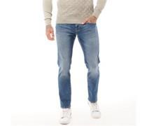 Native 417 Jeans mit geradem Bein Verblasstes Mittel