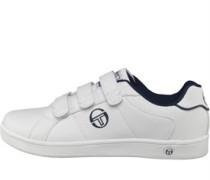 Herren Prince Trainers Weiß/Navy