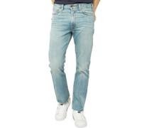 517 Cropped Bootcut Jeans Hellblau