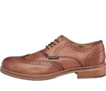 Ben Sherman Mens Patrick Brogue Shoes Tan