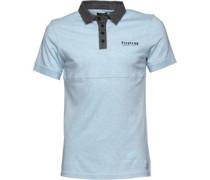 Firetrap Herren Stroma Bell Polohemd Blau