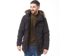 JACK AND JONES Mens Follow Parka Black
