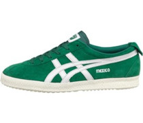 Onitsuka Tiger Mens Mexico Delegation Suede Green/White