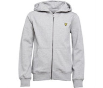 Lyle And Scott Junior Classic Hoody Vintage Grey Heather