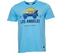 Druck T-Shirt Aquamarine