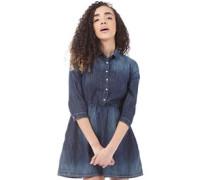 Damen ST Denim Kleid Denimmeliert Blau