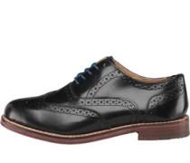 Ben Sherman Mens Oxford Brogue Shoes Black