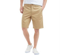 Herren Carrick Baumwolle Stretch Chino Shorts Sandbraun