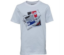 Converse Junior Polaroid Chucks T-Shirt White