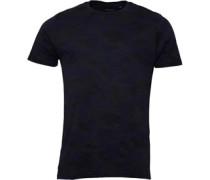 Brave Soul Herren Disguise Combo T-Shirt Blau