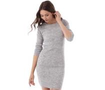 Brave Soul Damen Wilcox Kleid Grau