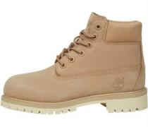 6 Inch Premium Stiefel Ecru