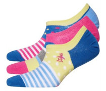 Trainer Liners Socken e Streifen