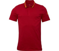 adidas Mens FEF Spain Anthem Polo Power Red Power Red
