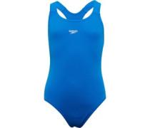 Mädchen Essential Medalist Badeanzug Blau