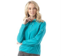 Damen Spectrum 2.0 1/2 Zip Fleece Türkis