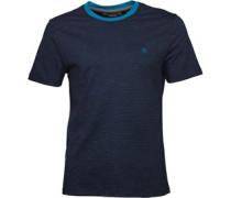 Original Penguin Mens Slub Feeder Ringer T-Shirt Dark Sapphire