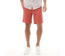 Chino Shorts Terrakottafarben