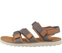 Herren Pierce Point Sandalen Grau