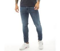Wardley Jeans mit geradem Bein Dunkelsteingrau