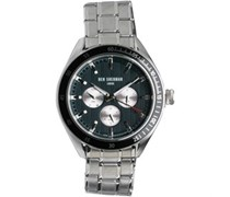 Ben Sherman Mens Islington Multi Fuction Watch Silver/Black
